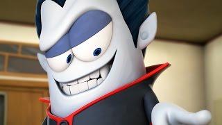 Funny Animated Cartoon | Spookiz Meet Cula the Vampire 스푸키즈 | Cartoon for Children