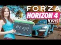 Forza Horizon 4 pre-release stream, with gaming wheel (FULL GAME!)