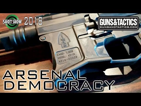 Arsenal Democracy lightens things up - Shot Show 2018