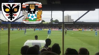 Matchday Experience AFC Wimbledon VS Coventry City 11/08/2018