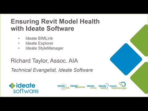 Ensuring Revit Model Health with Ideate Software for Revit