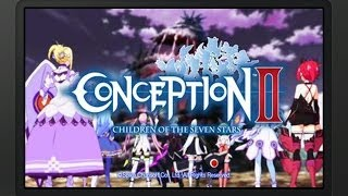 Conception II: Children of the Seven Stars - Prologue & Chapter 1 Playthrough (1/3) [3DS]