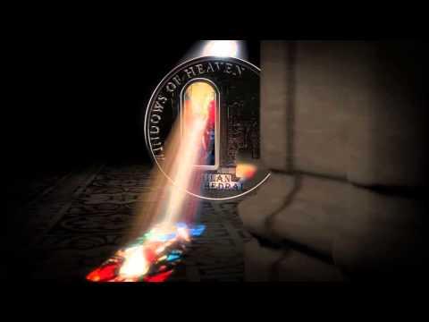 Cook Islands Windows of Heaven Silver Coin Milan,Notre Dame,Lourdes,Buenos,Sacre,Washington