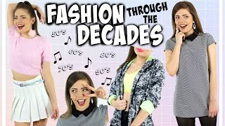 FASHION TRENDS THROUGH THE DECADES | A Style Timeline from 50-90's