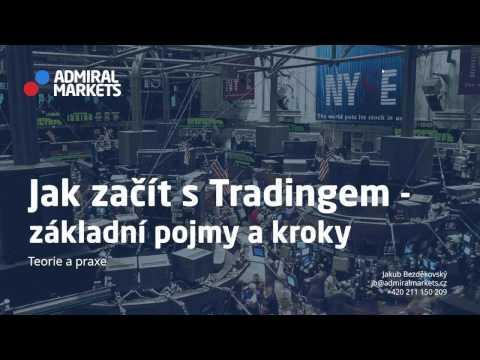 Jaku začít s tradingem - základní pojmy a kroky na Forexu a CFDs
