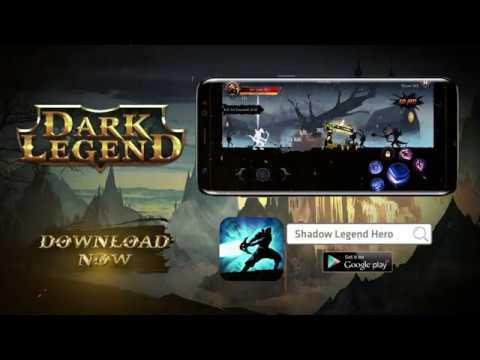 shadow fight heroes knight dark legends mod apk