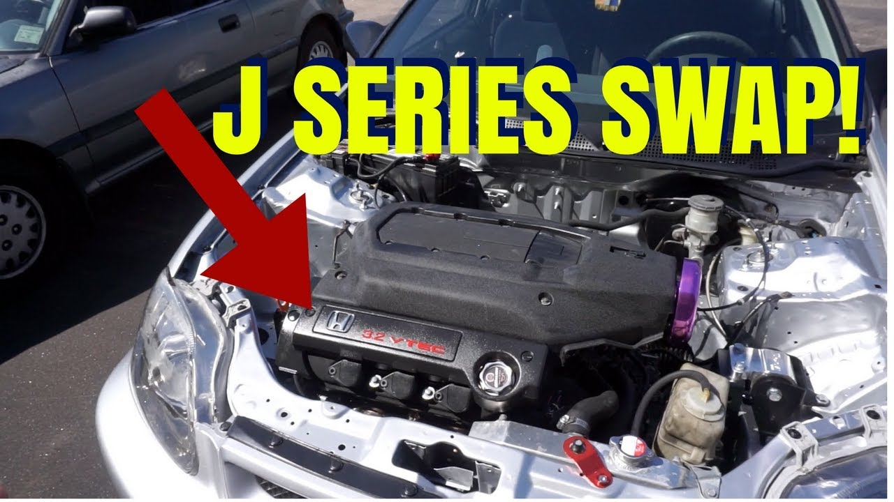 J32 / J SERIES SWAP EK CIVIC! HSG EP  6-31