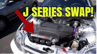 J32 / J SERIES SWAP EK CIVIC!   HSG EP. 6-31