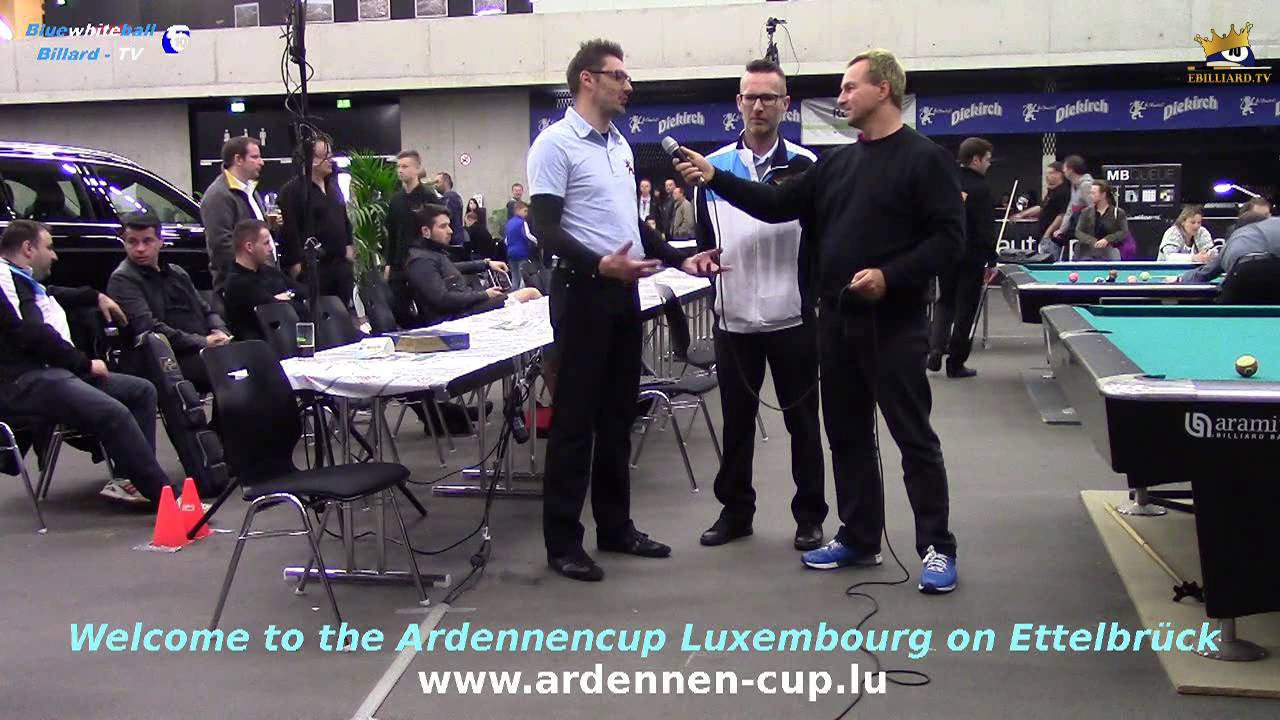 Billard Duisburg Ac2016 Interview With Steve Leisen Und Marc Glatz Bluewhiteball Billard Tv