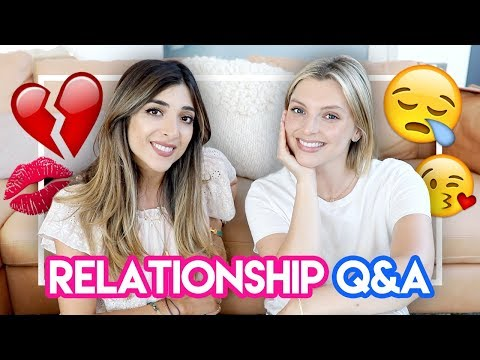 RELATIONSHIP Q&A - break ups, dating & more! | Amelia Liana & Estée Lalonde
