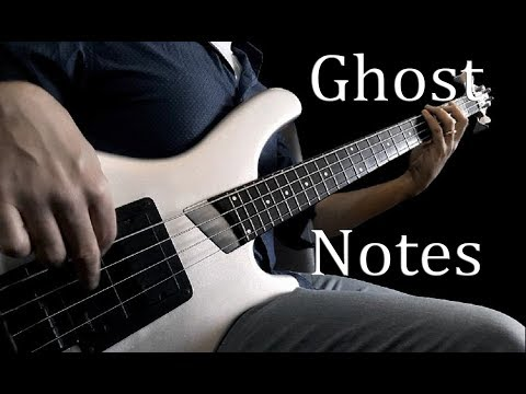 FUNKY BASS GROOVE QUICK LESSON -  Ghost Note Example for Beginners