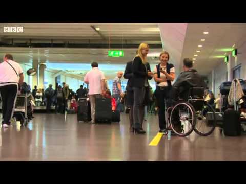 Frank Gardner Flying with a wheelchair