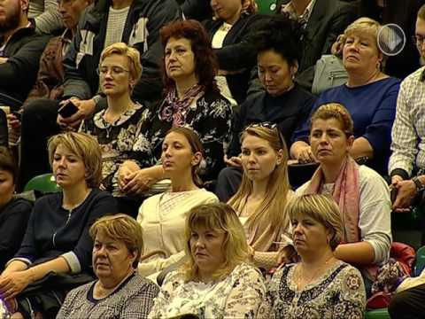 Встреча главы республики Саха Якутия  Е Борисова с общественностью Мирнинского района