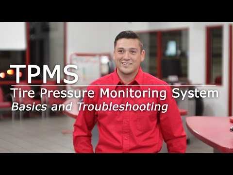 (TPMS) Tire Pressure Monitoring System | Basics & Troubleshooting