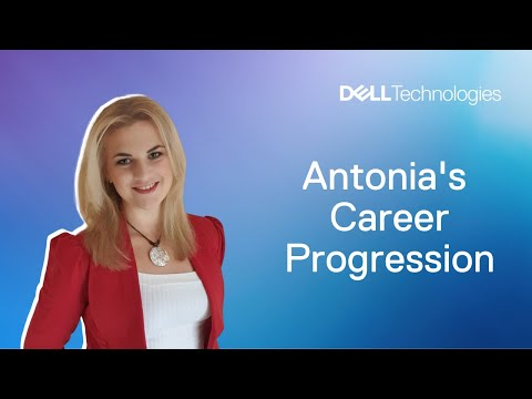 Antonia's Career Progression from a Graduate to a Technical