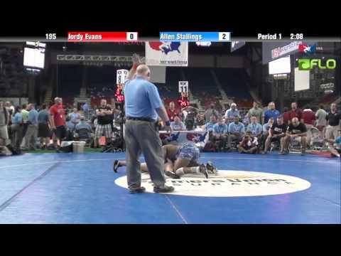 Cadet 195 - Jordy Evans (Utah) vs. Allen Stallings (Illinois)