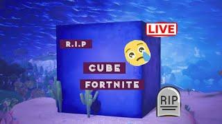 Cube está rompiendo Fortnite abierto lobby W/ady648 W/dean swift gaming (cubo R.i.P)