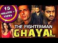 The Fighterman Ghayal Ashok Telugu Hindi Dubbed Full Movie | Jr NTR, Prakash Raj, Sonu Sood