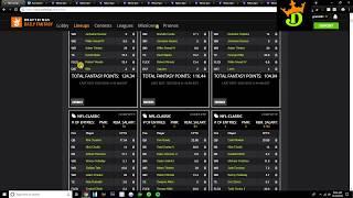 NFL Week 7 Lineup Review + DraftKings MNF Showdown Picks (Giants vs. Falcons)