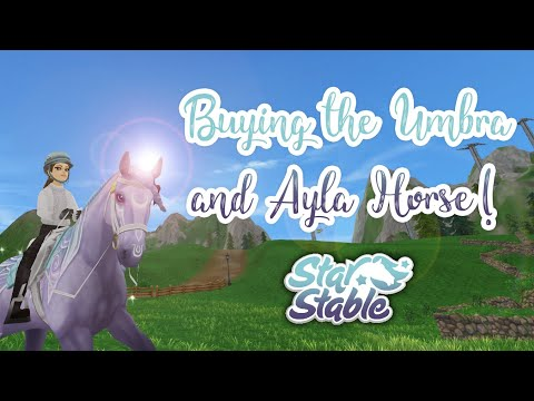 Buying The Umbra And Ayla Horse! 🐎🌋🌘 - Star Stable
