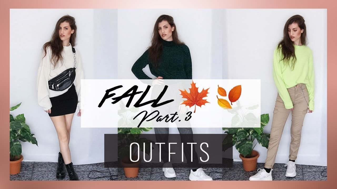 [VIDEO] - OUTFITS para el OTOÑO Part.3  🍂🍁 | Fall Lookbook 2019| MERCE GARCIA 2