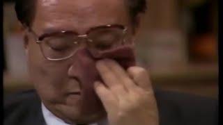 【金庸去世】纪念查良镛: 金庸生前唯一一次在公开场合哭泣