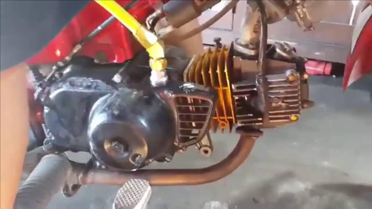 Wau Keren Tehnik Setting Karburator Motor Honda C70