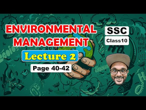 Environmental Management Class 10 Lecture 2 || SSC Maharashtra State Board