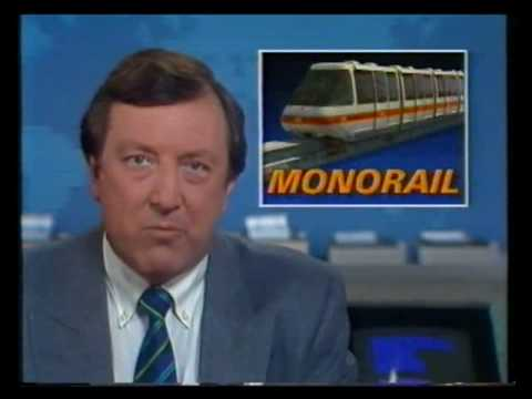 Sydney Monorail opening - Channel 9