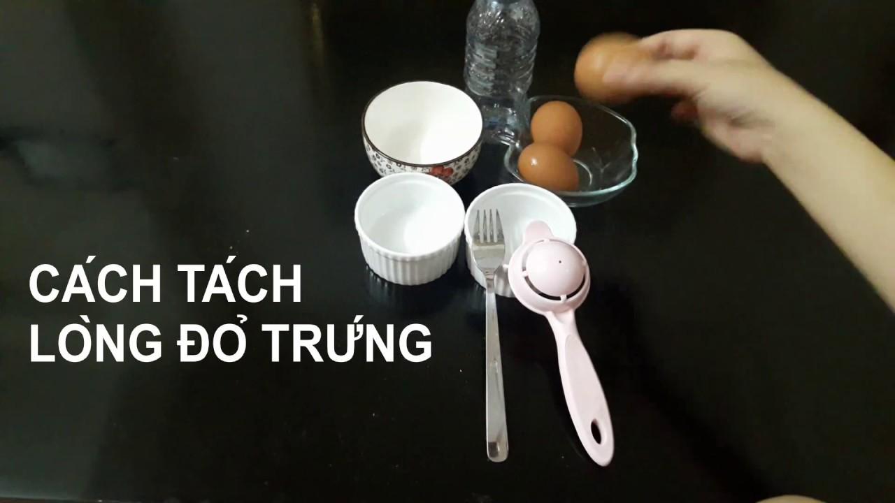 Làm sao để tách lòng trắng trứng nhanh | Bí kíp của bếp
