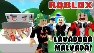 Lavadora Malvada en Roblox | Escape The Laundromat Obby | Juegos Roblox Gameplay