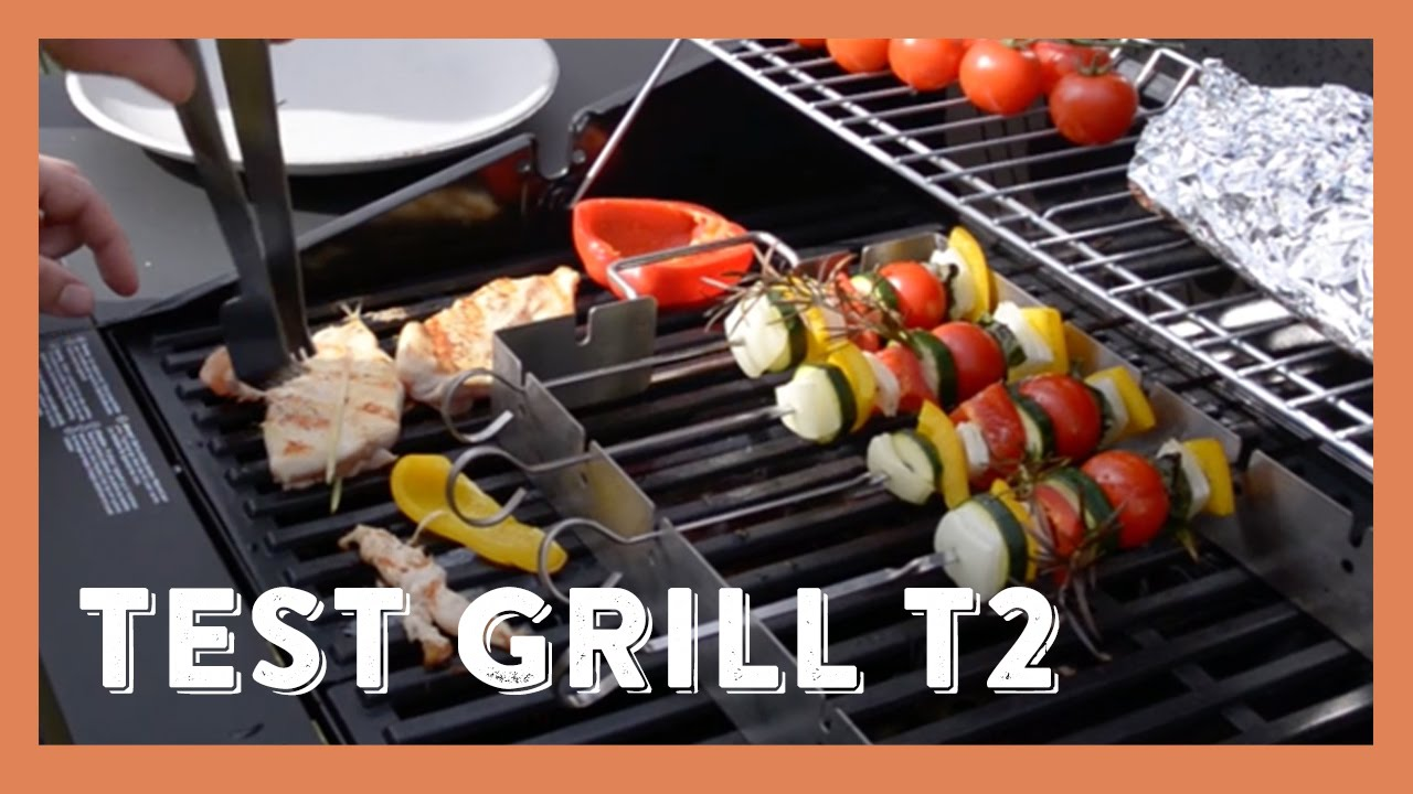 Grandhall Elektrogrill Test : Qooking.ch parfaite cuisson sur barbecue avec le grill grandhall
