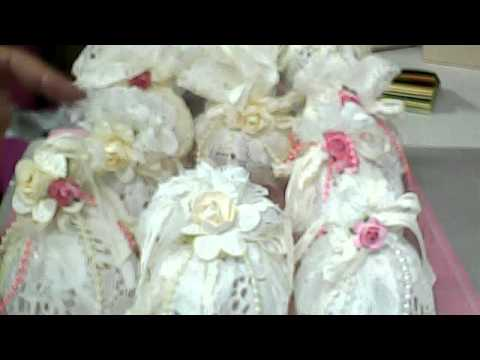 Shabby chic christmas ornaments youtube - Shabby chic christmas decorations to make ...