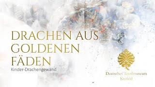 Drachen aus Goldenen Fäden - Kinder-Drachengewand (vor 6 Tagen)