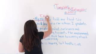 English Grammar: Tangible And Intangible Nouns