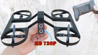 Mở Hộp Flycam Giá Rẻ Camera 720P Độc Lạ Nhất Thế Giới và Cái Kết