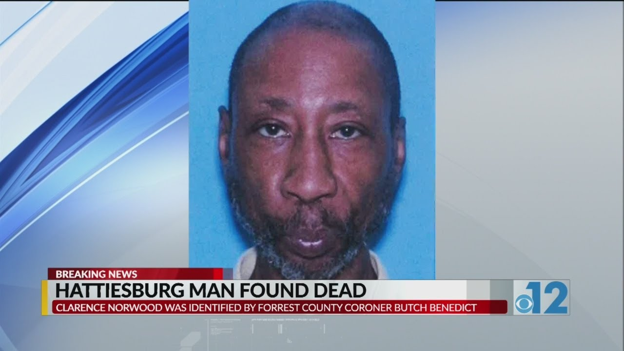 Body of missing Hattiesburg man found in vacant lot