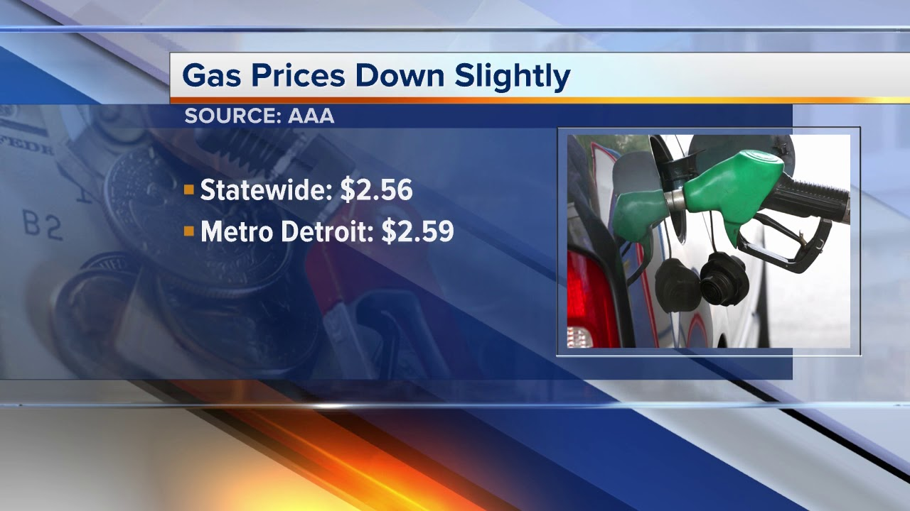 Detroit Gas Prices >> Gas Prices In Metro Detroit See Large Increase This Week