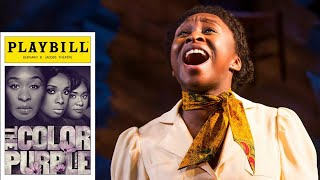 """Cynthia Erivo """"I'm Here"""" Front Row HQ Audio Broadway Live Performance The Color Purple Musical"""