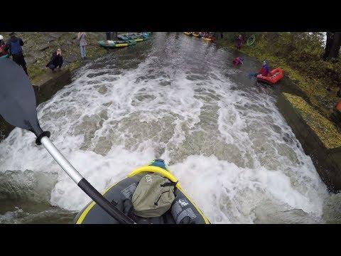 Wild jumps in cheapest kayak - RIO BOTIČO 2017 4K UHD