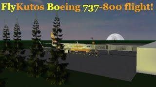 ROBLOX | FlyKutos | Boeing 737-800 flight!