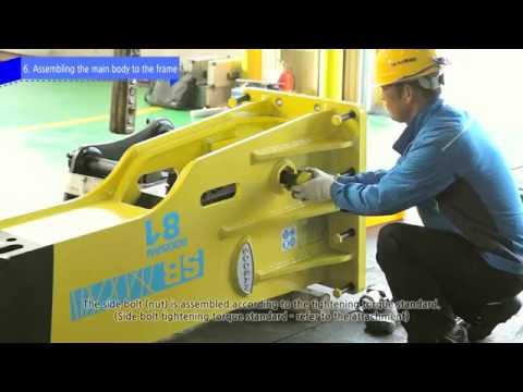 [Service Maintenance for Hydraulic Breaker]Main Body Assembly
