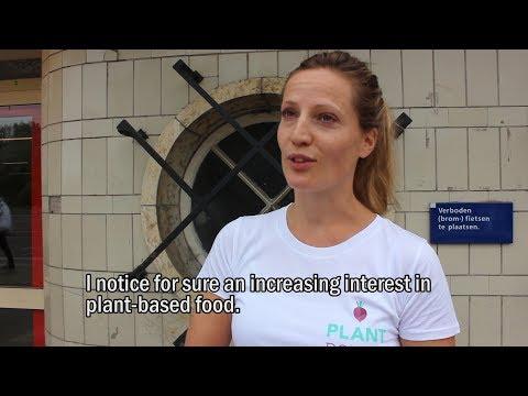 Vegan outreach with Plant Power | Vegan Amsterdam