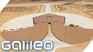 Der private Weltraumbahnhof von New Mexico   Galileo   ProSieben