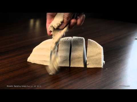Kinetic sand - cool weird material to play with