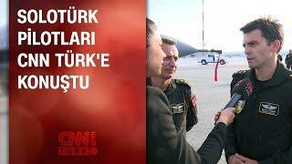 SOLOTÜRK pilotları CNN TÜRK'e konuştu