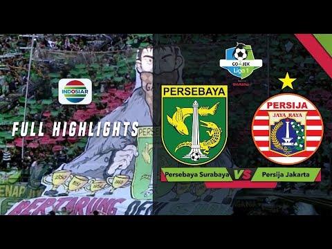 Persebaya Surabaya (3) vs (0) Persija Jakarta - Full Highlights | Go-Jek Liga 1 Bersama Bukalapak