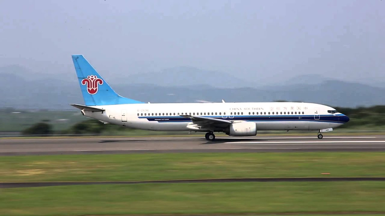 中國南方航空機(富士山靜岡空港) - YouTube
