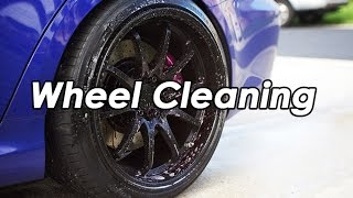DIY: Lexus ISF Volk CE28 Wheel Cleaning