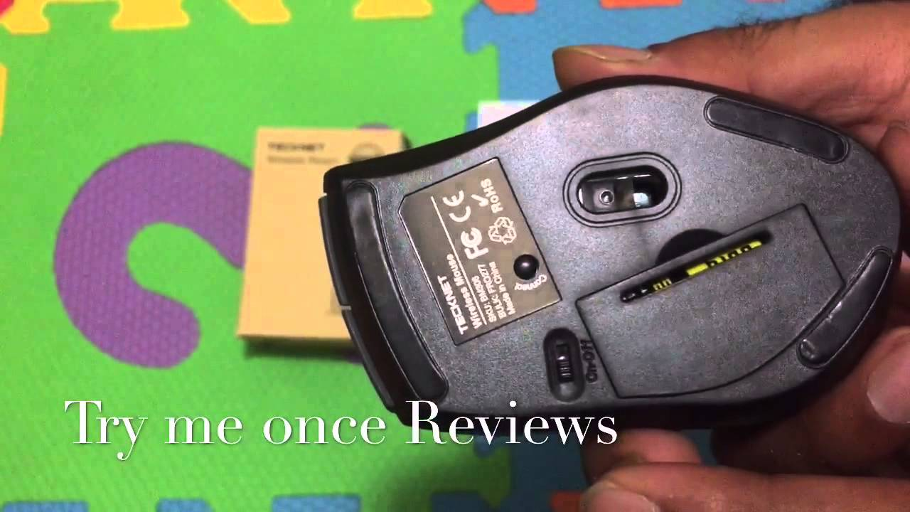 18070ad14d6 Tecknet Wireless Bluetooth Mouse - Review | Try me Once Reviews ...